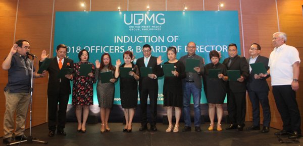 UPMG Inducts Officers & Board of Directors