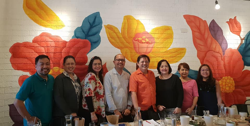 8th Board Meeting at Persephone Restaurant, Makati City