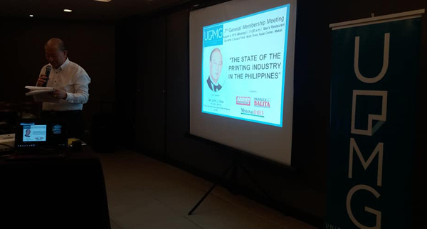 State of Print in the Philippines was tackled at 7th GMM