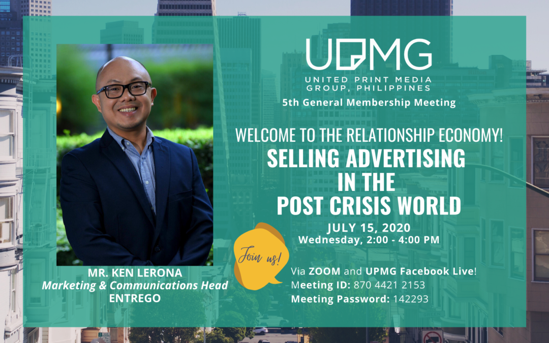 5th UPMG GMM FOCUSES ON SELLING ADVERTISING IN THE POST-CRISIS WORLD